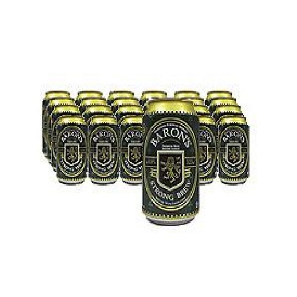 Baron S Can Beer Strong Brew 24 X 330ml Ctn