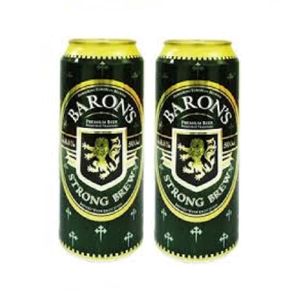 Baron S Can Beer Strong Brew 2 X 500ml 2 Can Promo
